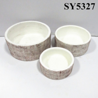 Pot for plant round clay pot plants