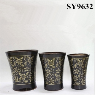 Beautiful flower pot ceramic garden pots