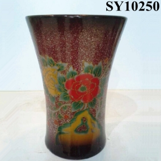 Classical porcelain hotel flower pot