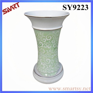 2015 new printing green decoration wholesale flower pot