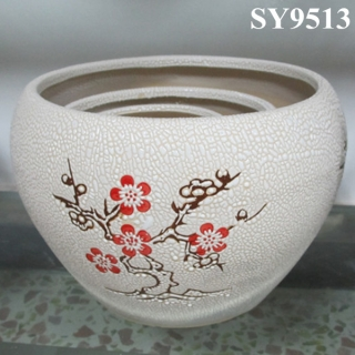 Chinese style indoor decoration flower pot