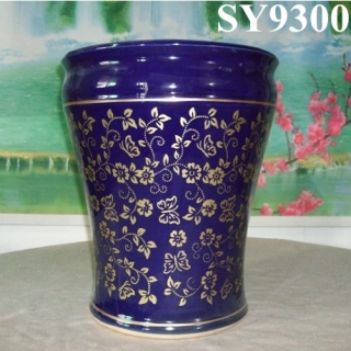 Plant pot for sale blue hotel porcelain pot plant