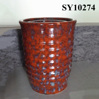 Beautiful colorful decoration ceramic pot