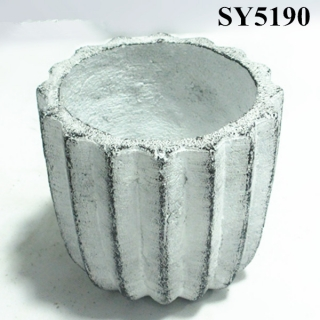 New products 2015 innovative product garden decoration cement plant pots