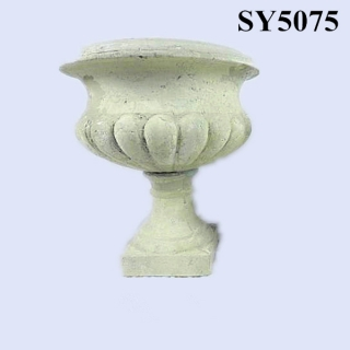 2015 new product cement garden flower pot