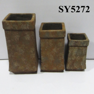 Hot new products for 2015 tall squared clay pot wholesale
