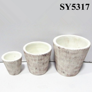 Special design new product crimson cylinder flower pot