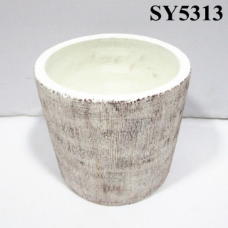 Mini cement plant for sale home living decorative cement flower pot