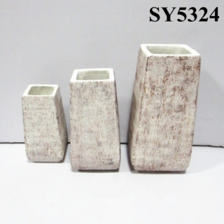 hotsale indoor square outdoor garden planter pot