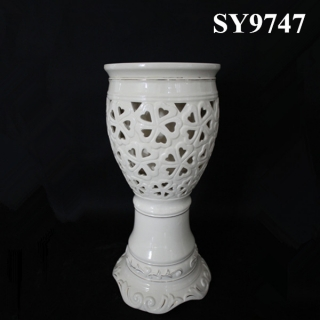 Europe style hollow out decoration pot
