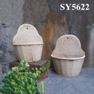 Special design decoration cement garden pots