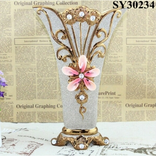 Made in China crystal glass sand ceramic vases