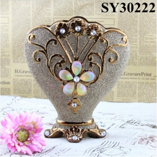 Hot selling ceramic porcelain flower vase