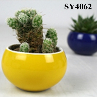 New products on Europe market colorful small clay pots