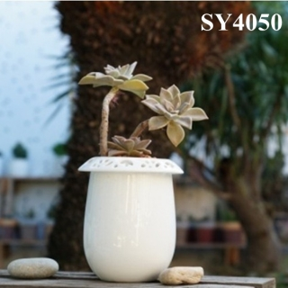 6.3 inches ceramic mini flower pot