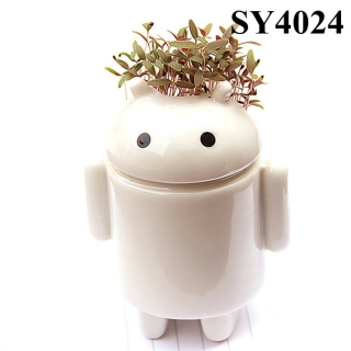 Android design ceramic grass head